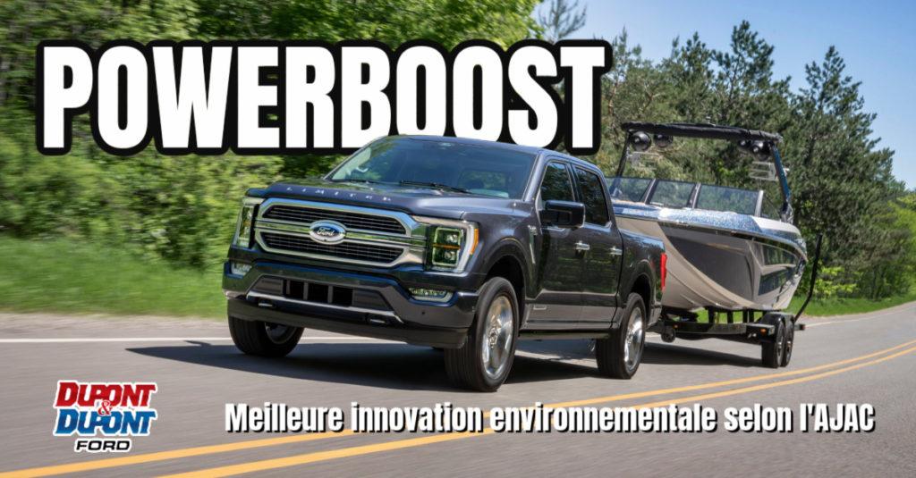 f-150 ford powerboost hybride prix ajac