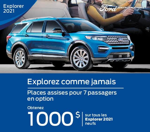 ford explorer 2021 gatineau offre