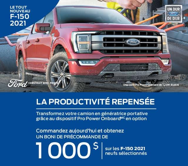 Ford F-150 2021 Gatineau