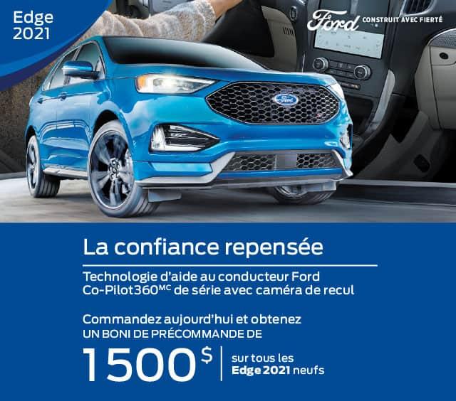 Ford edge 2021 gatineau