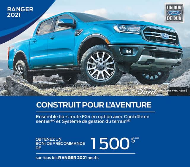 Ford ranger 2021 gatineau